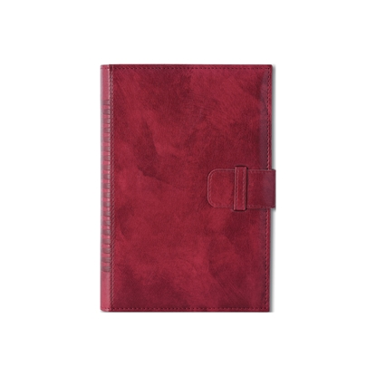 Picture of Calendar-Notepad King, with dates, B5, red