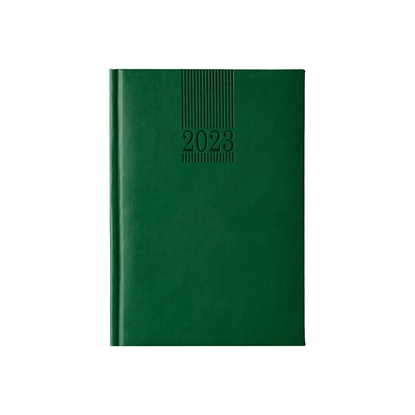 Picture of Calendar-Notepad Picasso, without dates , А5, green