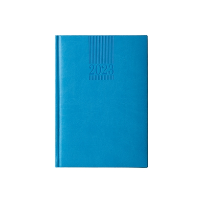 Picture of Calendar-Notepad Picasso, without dates , А5, light blue