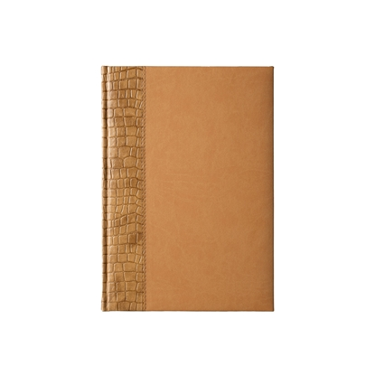 Picture of Calendar-Notepad, weekpaper Galant, A4, brown/beige
