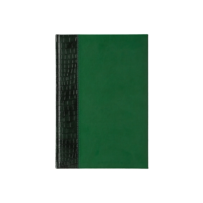 Picture of Calendar-Notepad, weekpaper Galant, A4, dark green/green