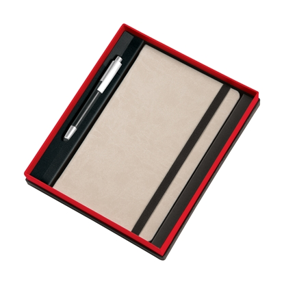 Picture of Gipta book, 13 x 21 cm, with Ballpen Master Set, in a box