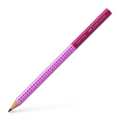Picture of Faber-Castell Pencil Jumbo Grip, Two tone, pink