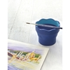 Picture of Faber-Castell Water cup Click&Go, foldable, dark blue