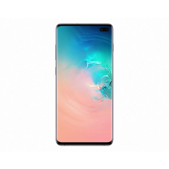 Picture of Samsung smartphone Galaxy S10 SM-G970F, with two Sim cards, 128 GB, 8 GB RAM, 12MP camera, 4100 mAh, 6.4