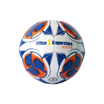 Picture of Office 1 Superstore Football ball №5, leather