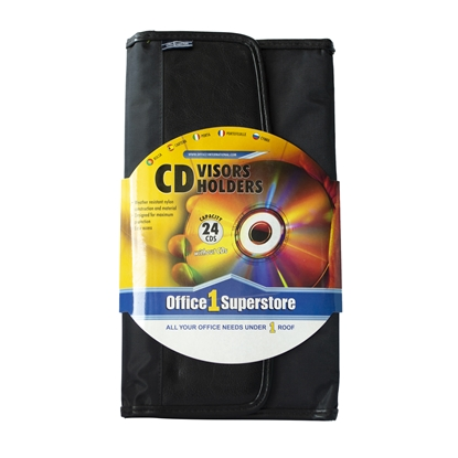 Picture of Office 1 Superstore case for CD Visor, for 24 disks