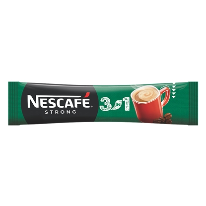 Picture of Nescafe soluble Coffee 3in1 Strong, 17 g, in a package, 28 pcs