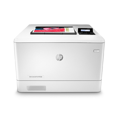 Picture of HP Laser printer Color LaserJet Pro M454dn, A4, with party-line and meshwork, colored