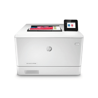 Picture of HP Laser printer Color LaserJet Pro M454dw, A4, with party-line, meshwork and Wi-Fi, colored