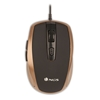 Picture of NGS mouse Tick, with cable, 6 buttons, color gold
