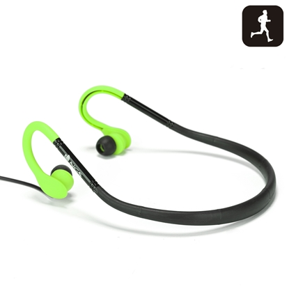 Picture of NGS headphones Cougar, for sport, green