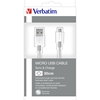 Picture of Verbatim Cable Micro USB/USB A, 30 cm, silver