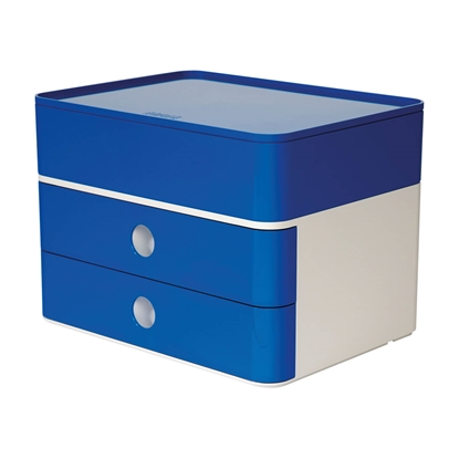 Picture of HAN Smart-Box Plus Allison, with 2 drawers and organiser, blue