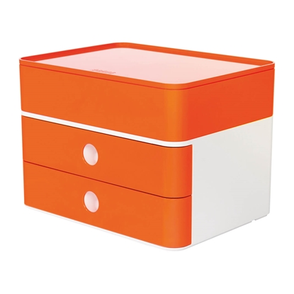 Picture of HAN Smart-Box Plus Allison, with 2 drawers and organiser, red