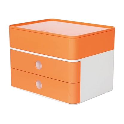 Picture of HAN Smart-Box Plus Allison, with 2 drawers and organiser, orange