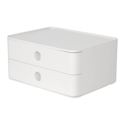 Picture of HAN Smart-Box Plus Allison, with 2 drawers, white