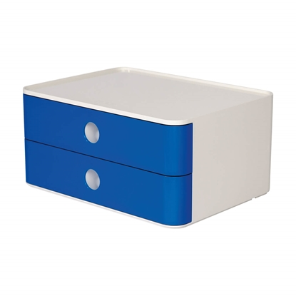 Picture of HAN Smart-Box Plus Allison, with 2 drawers, blue