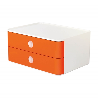 Picture of HAN Smart-Box Plus Allison, with 2 drawers, red