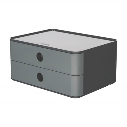 Picture of HAN Smart-Box Plus Allison, with 2 drawers, granite grey
