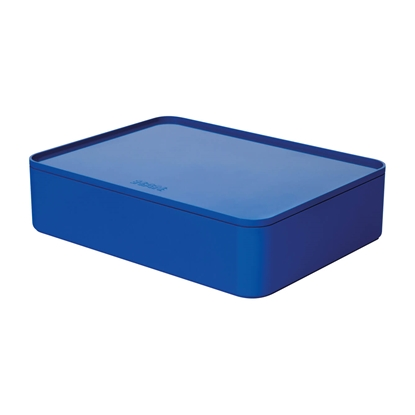Picture of HAN Smart-Box Allison Smart-Organizer, with lid, blue