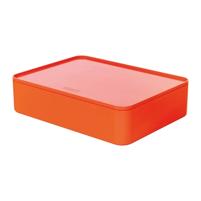 Picture of HAN Smart-Box Allison Smart-Organizer, with lid, red