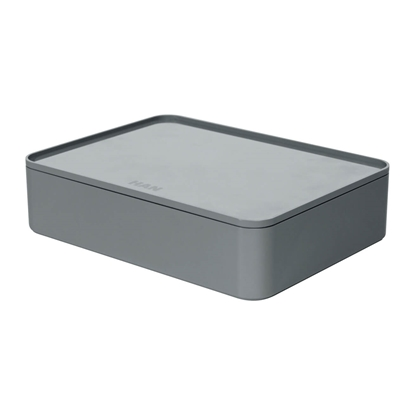 Picture of HAN Smart-Box Allison Smart-Organizer, with lid, dark grey