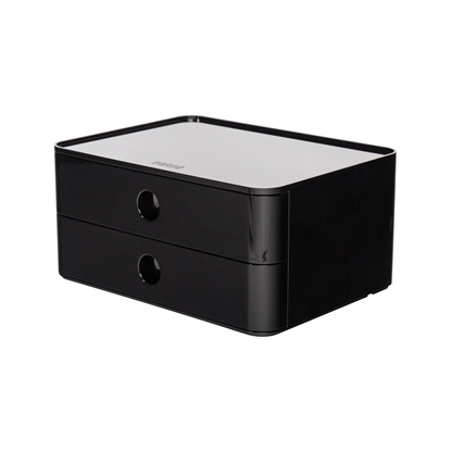 Picture of HAN Smart-Box Plus Allison, with 2 drawers, black