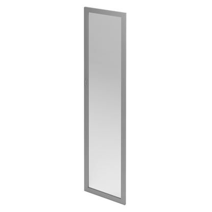 Picture of S2 V5 Wooden Rack Door, aluminium frame glass