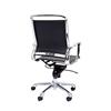 Picture of RFG Ell W Office Chair, eco-leather, black seat , black back