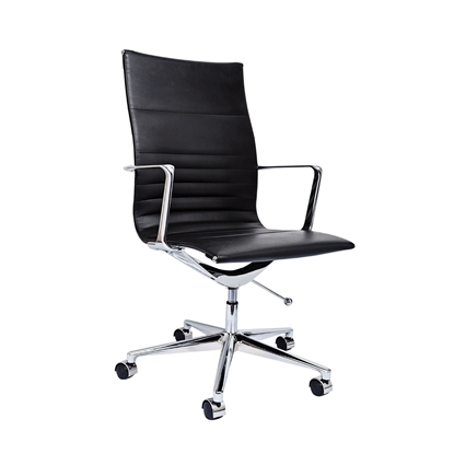 Picture of RFG Haven W Office Chair, eco-leather, black seat , black back