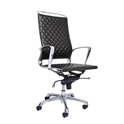 Picture of RFG Ell HB Director s Chair, eco-leather, black seat , black back