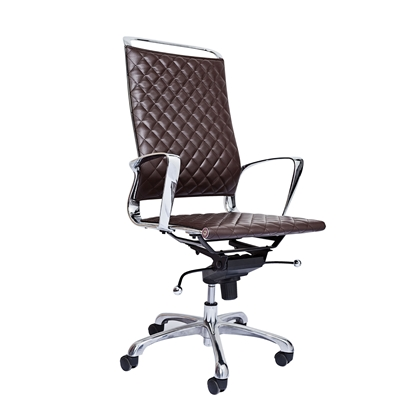 Picture of RFG Ell HB Director s Chair, eco-leather, brown seat , brown back