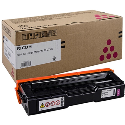 Picture of Ricoh Toner SP C250SF, 1600 pages, Magenta
