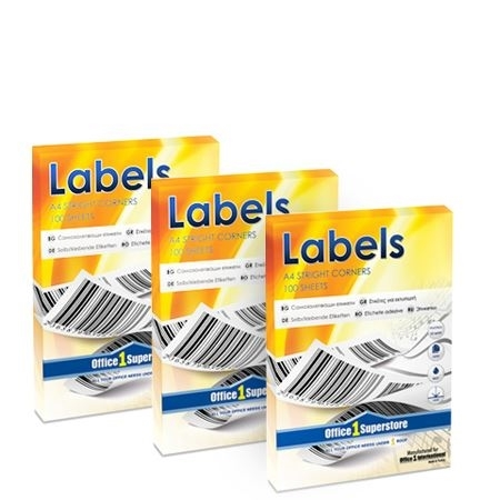 Picture for category White printer labels