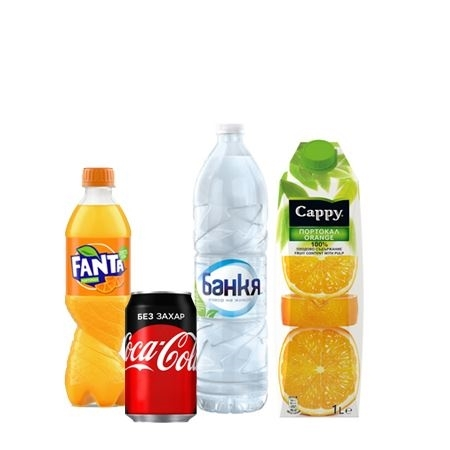 Picture for category Non-alcoholic beverages and water