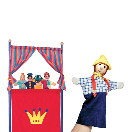 Picture for category Dolls and screens for puppet theater