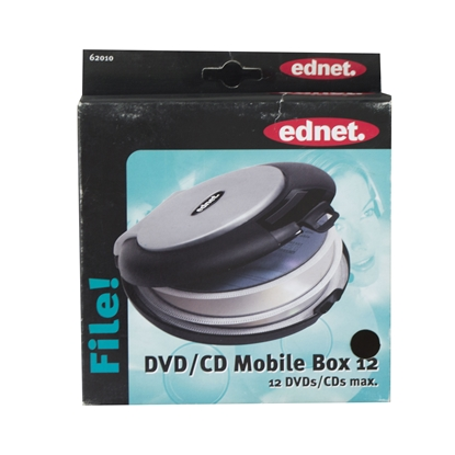 Picture of Ednet case for CD Mobil Box, for 12 disks