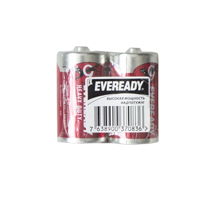 Picture of Energizer zinc battery Eveready, HD, D, 1.5V, 2 pcs , foiled
