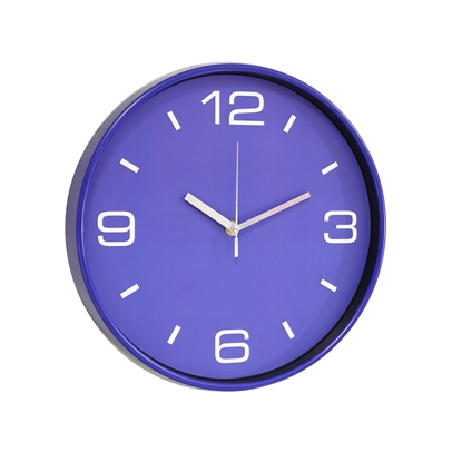 Picture of Wall watch Crossandra, diameter 30 cm, blue
