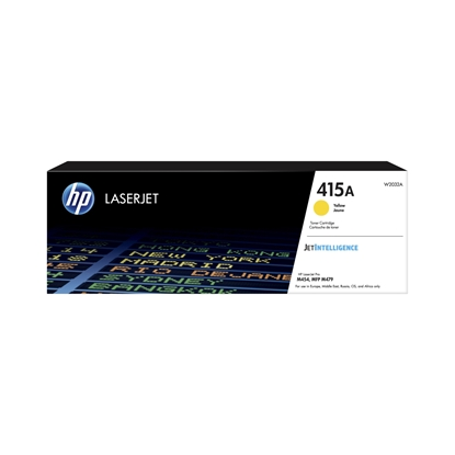Picture of HP Toner W2032A, 2100 pages, Yellow
