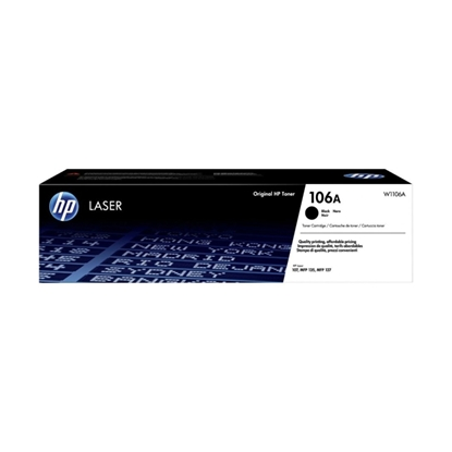 Picture of HP Toner 106A W1106A LJ 107/135/178/179, 1000 pages, Black