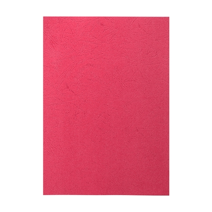 Picture of Top Office Binding Covers, cardboard, A4, leather design,  210 g/m2 blue, 100 pcs.