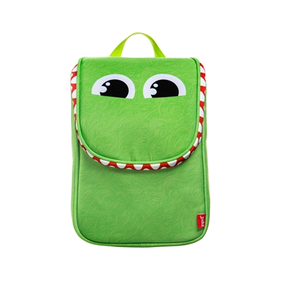 Picture of Zipit backpack Wildlings, for food, green