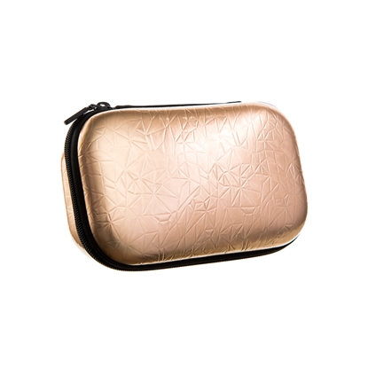 Picture of Zipit Case, metallic, gold, in a box