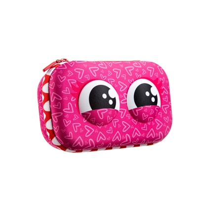 Picture of Zipit Case Wildlings 2019, pink, in a box