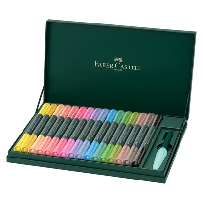Picture of Faber-Castell Watercolor marker Albrecht Durer, 16 colors, in a Gift box