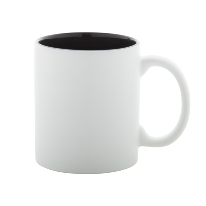 Picture of Cool cup Revery, ceramic, 350 ml, white and black
