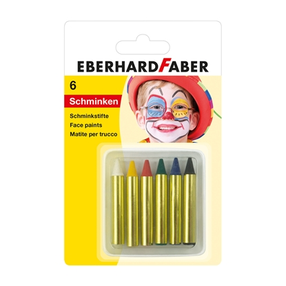 Picture of Ebarhard Faber Face pastels, 6 colors
