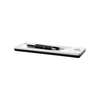Picture of HAN holder for writing instruments i-Line, horizontal, white/black